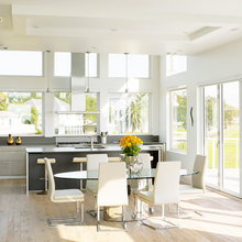 Seabrook- Kitchen with an Oceanfront view
