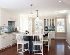 Seafaring Family Home beach-style-kitchen