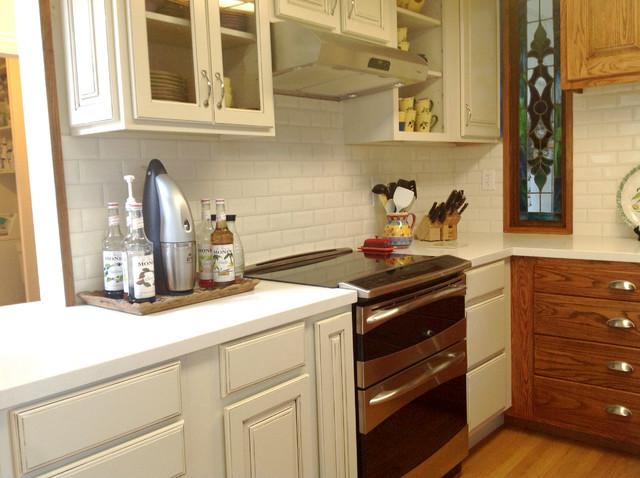 Seashell Quartz Kitchen - Traditional - Kitchen - Other - by Artistic Stone Kitchen & Bath Inc