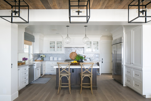 beach-style-kitchen 20 Beautiful Beach Themed Kitchen Designs