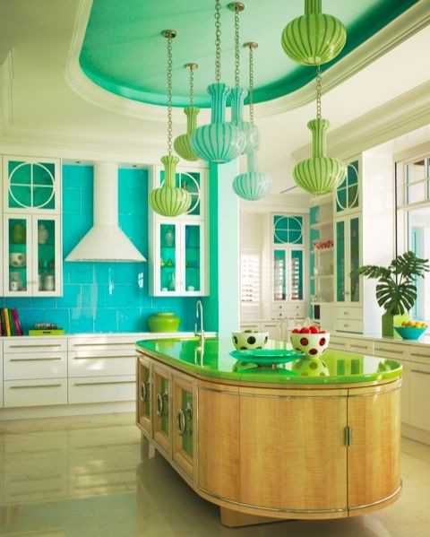 SEASIDE eclectic kitchen