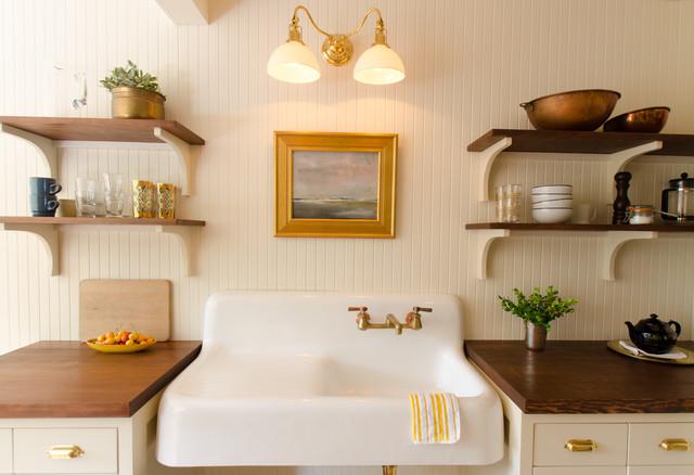 seaside beach house maritim k che portland von emerick architects. Black Bedroom Furniture Sets. Home Design Ideas