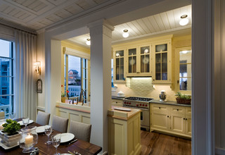 Seaside Cottage - Beach Style - Kitchen - other metro - by Gary Brewer Robert A.M. Stern Architects