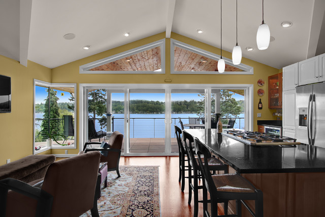 Seda Deck Traditional Kitchen Seattle By Logan S