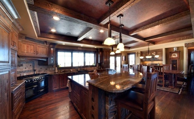Knotty Cherry Cabinets http://www.houzz.com/photos/555151/Sedona-Knotty-Cherry-traditional-kitchen-other-metro