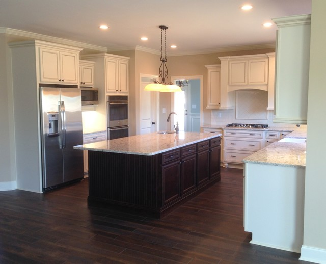 Sedona maple cabinets in warner robins ga traditional kitchen