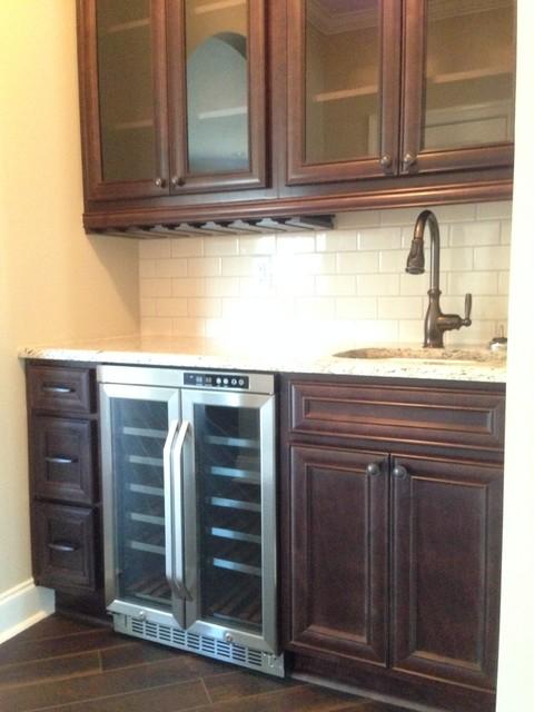 Cabinets Warner Robins  Sedona Maple Cabinets in Warner Robins, GA traditional-kitchen