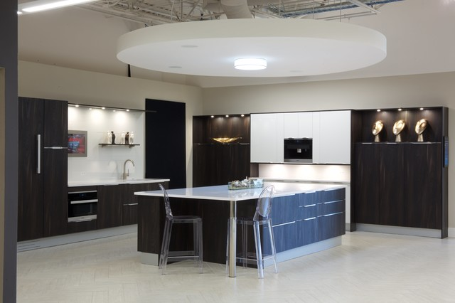 See Center Of Island Tv Pop Up Contemporary Kitchen Miami By Premium Kitchens