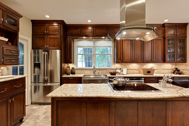 seifert kitchen traditional kitchen atlanta by turan designs inc. Black Bedroom Furniture Sets. Home Design Ideas