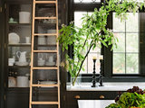 craftsman kitchen Aim High: What to Know About Adding a Library Ladder (16 photos)