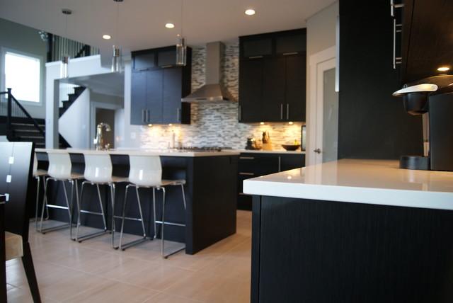 Selvadurai Residence modern-kitchen