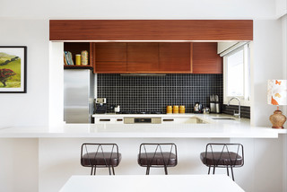 Selwyn Ave Contemporary Kitchen Auckland By BTInteriors