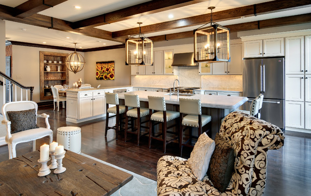 Semerjian Interiors rustic kitchen