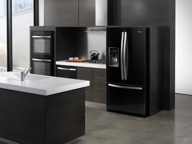 Vernon Black Stainless Steel Liances Source Whirlpool 2 White Kitchen