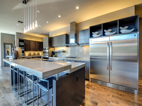 Serenity - The Woodward Project modern-kitchen
