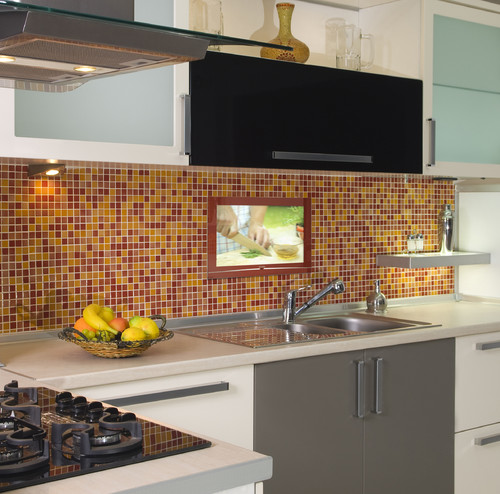 yay or nay? tv in the kitchen