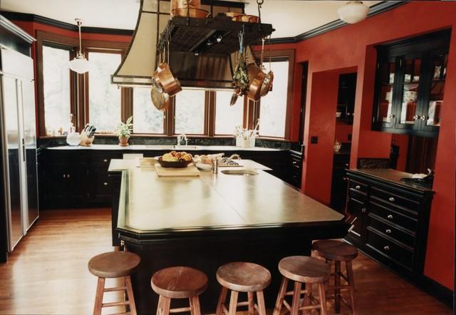 Seward Park Estate traditional-kitchen