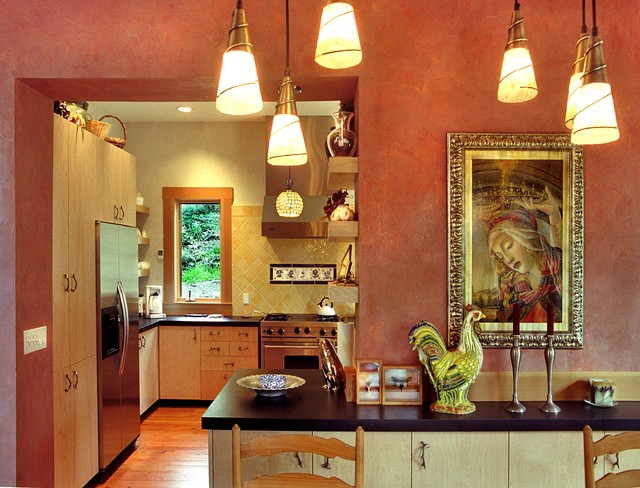 Seymour Residence eclectic-kitchen