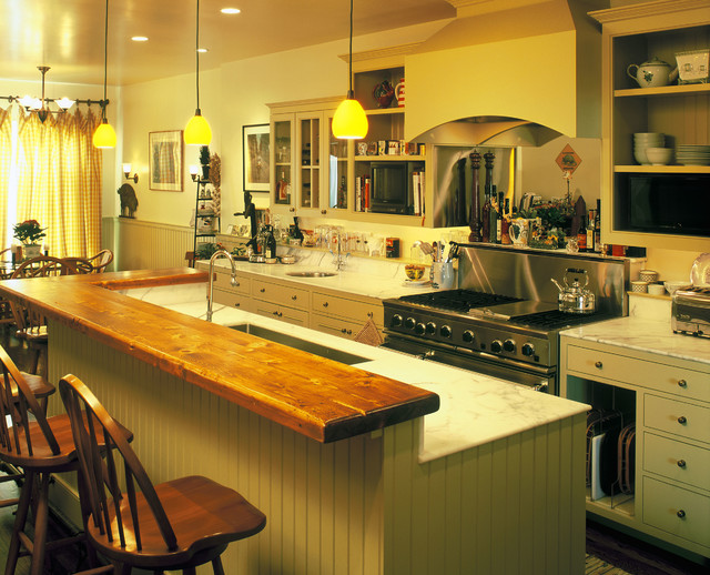 SF European Country Style Kitchen Rustic San