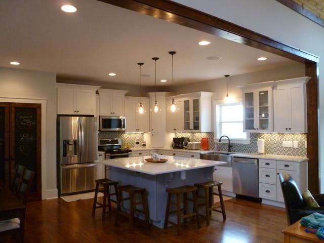 Sgc New Home Craftsman Kitchen Nashville By Llg Residential Design Llc