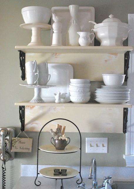 shabby nest traditional-kitchen