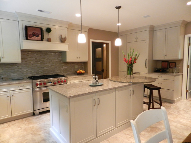 Shades of Beige traditional-kitchen