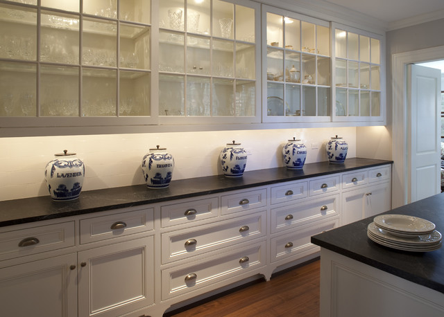 Shades of Gray  Traditional  Kitchen  other metro  by Siemasko