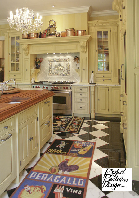 Shades of Yellow traditional-kitchen