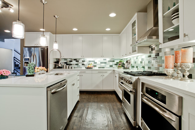 Shadow Bend contemporary-kitchen
