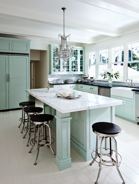 Shady Lane - Traditional - Kitchen - San Francisco - by Ross Painting