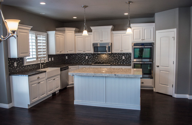 Home Builders Shadybrook Lane Stansbury Park Utah Traditional Kitchen