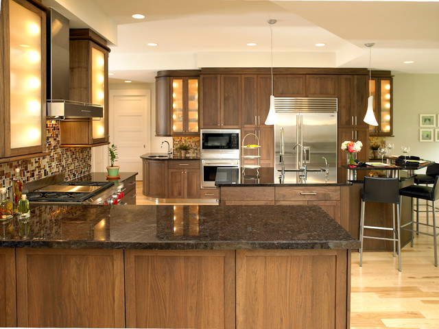 dark walnut cabinets kitchens shaker black walnut kitchen traditional kitchen 14490