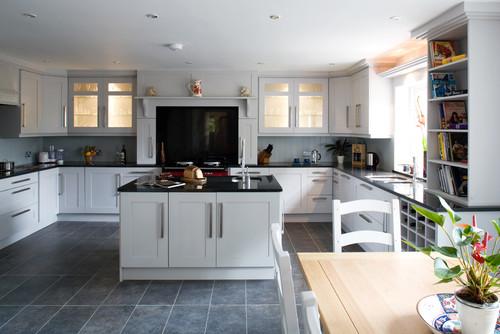 Blue Kitchen Floor Tiles | Credainatcon.com