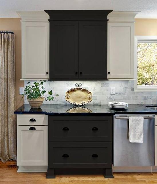 Black Shaker Kitchen Cabinets: Shaker Kitchen Cabinets