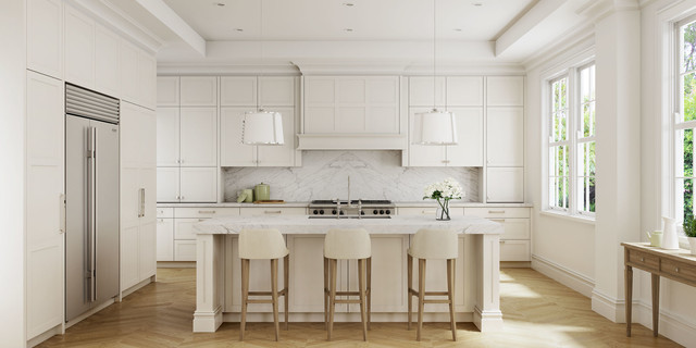 Shaker kitchen traditional kitchen sydney by dan for Kitchen manufacturers sydney