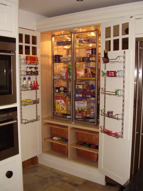 shaker kitchen pantry - contemporary - kitchen - sussex -the