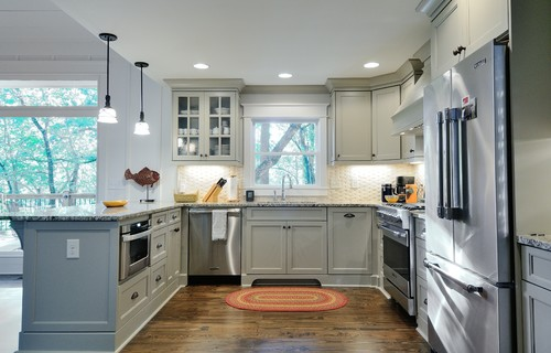 White Tulum Kitchen Granite Countertops Design Ideas