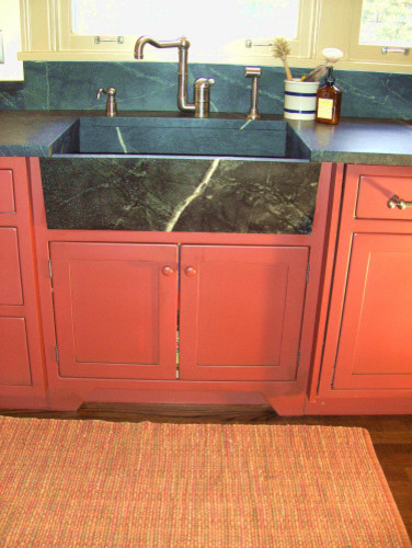 Shaker Red Kitchen Traditional Kitchen Other By Kitchen Concepts Inc