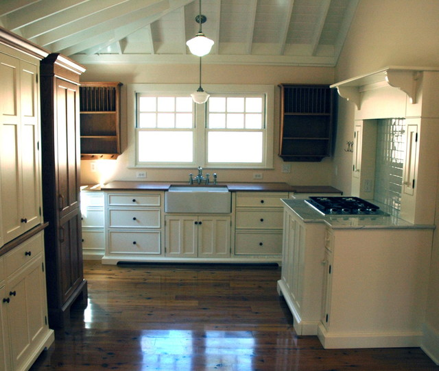 shaker style unfitted kitchen furniture farmhouse