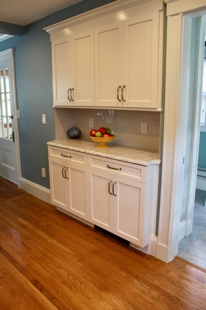 Shallow Depth Storage And Counter Area
