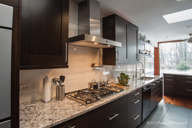 Sharer cabinetry contemporary kitchen contemporary for Accents salon bellingham