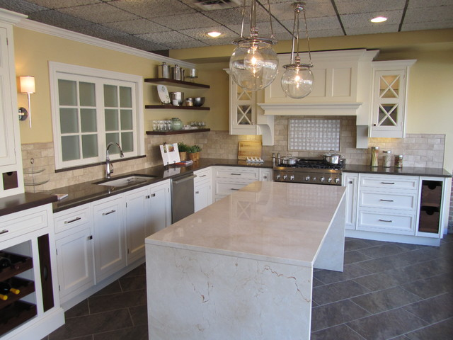 Sharer Cabinetry Display traditional-kitchen