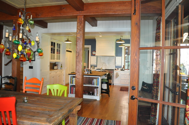 Sharlie Lane Cabin traditional-kitchen