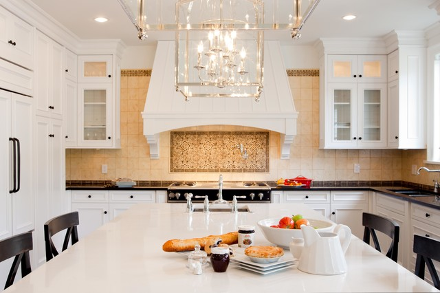 Shaugnessy Residence traditional-kitchen