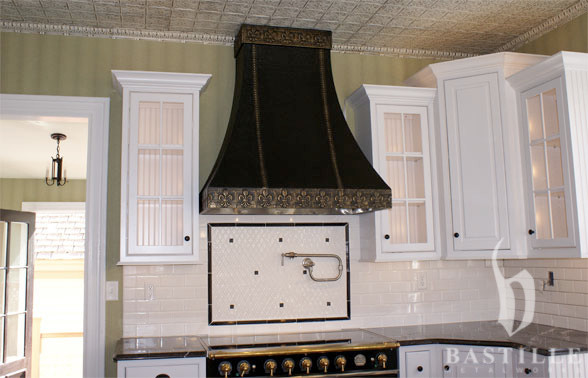 Sheet Metal Range Hoods Traditional Kitchen Other