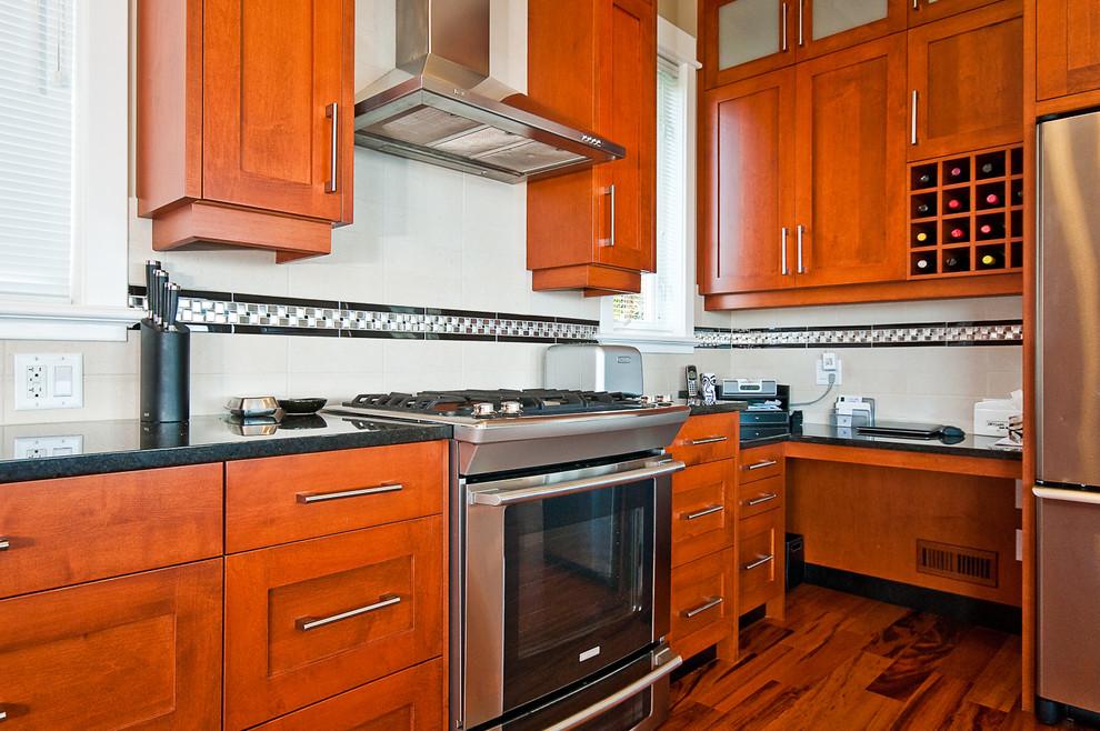 Sheffield Renovation - Transitional - Kitchen - Vancouver ...