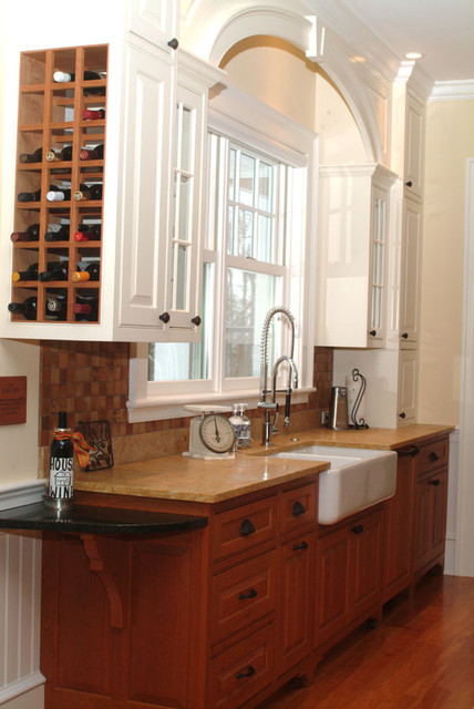Shelburne vermont kitchen traditional kitchen for Kitchen cabinets vermont