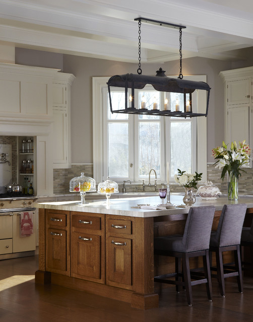 Shelter Bay Drive traditional-kitchen