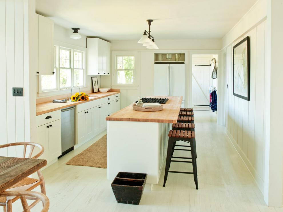 Shelter Island Heights Modern Kitchen New York By Schappacherwhite Architecture D P C Houzz