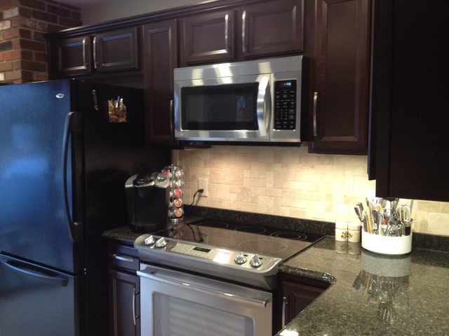 Shenandoah Breckenridge Cherry Java Kitchentraditional Kitchen Philadelphia